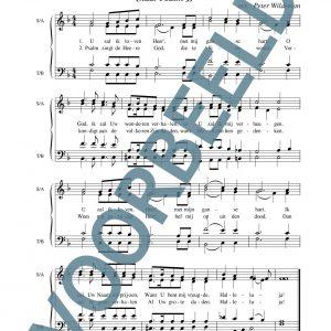 Psalm 9 - U zal ik loven, Heer'